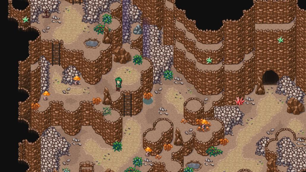 Screenshot einer Dungeonmap von Schilderich