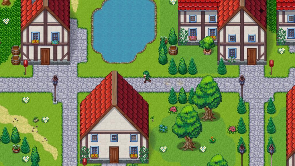 Screenshot der Kliffheim-Map von Zexi